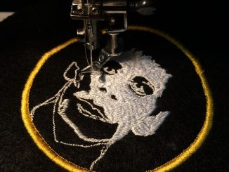 Amazing diy embroidered punk style patches by Dirty Needle Embroidery. Patches are back and this guy has some mad skills creating these pieces of art.