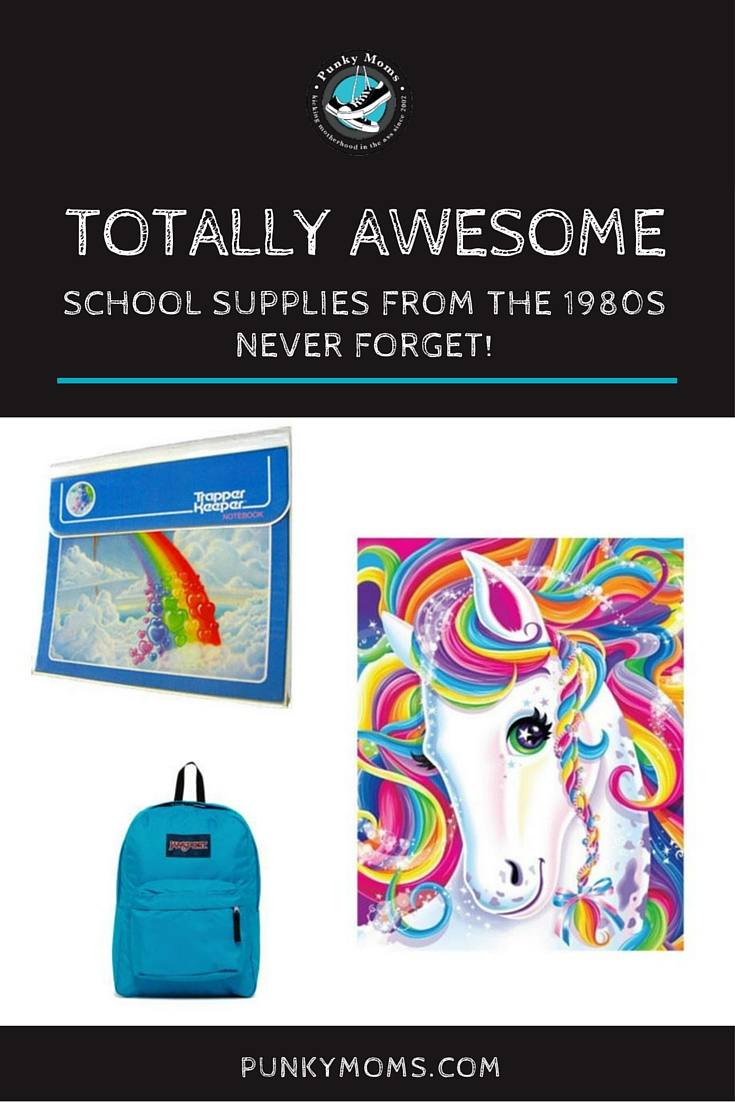 Totally 80s man! Take a trip down memory lane and check out these amazing 1980s school supplies you PROBABLY have forgotten all about!