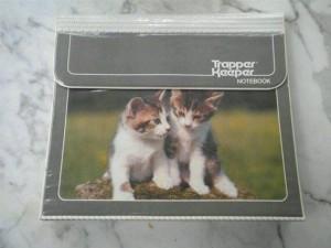1980s school supplies - trapper keeper