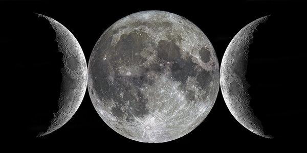 The Triple Goddess Moon