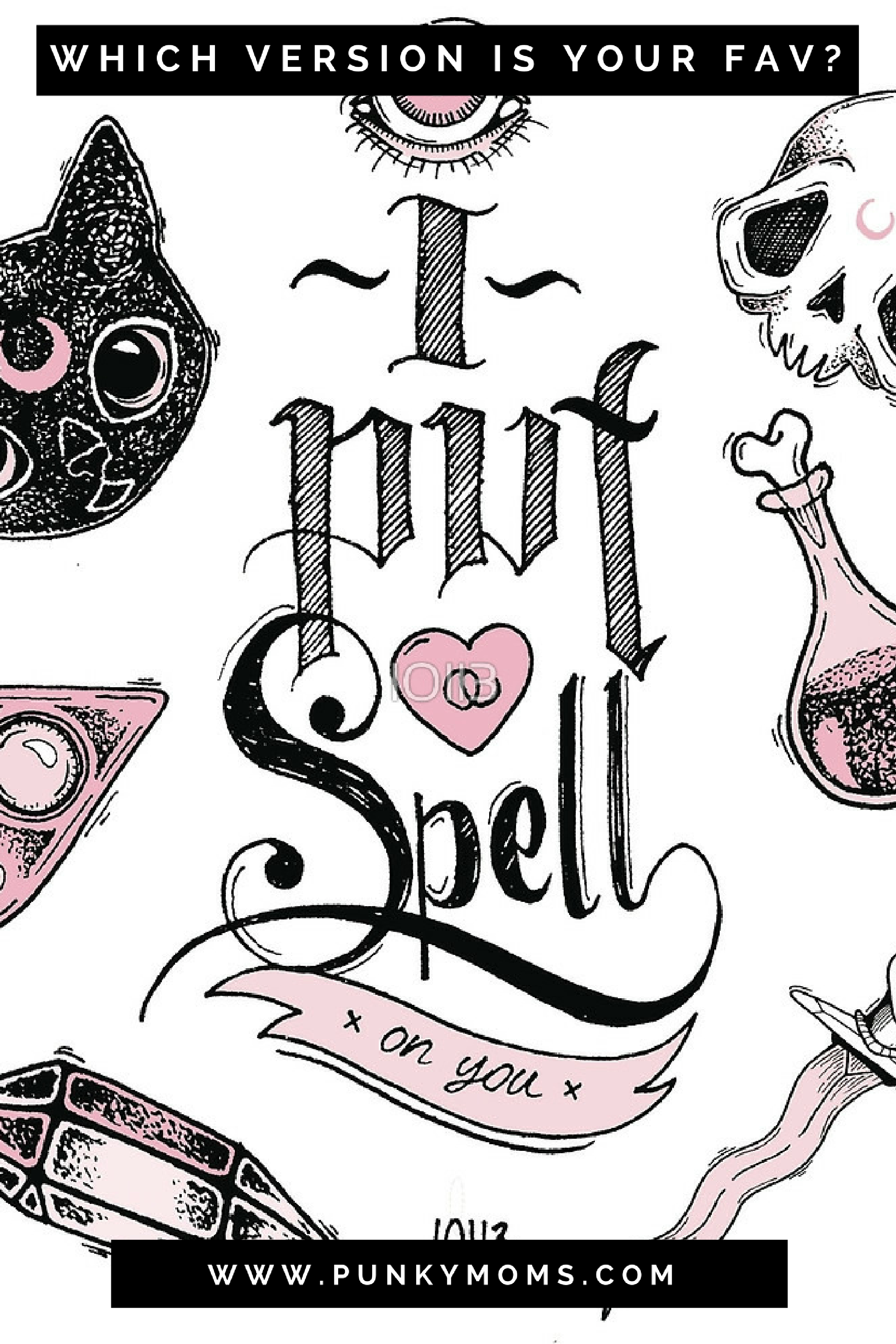 I put a spell on you. Which version is your favorite? Screamin Jay Hawkins? Marilyn Manson?