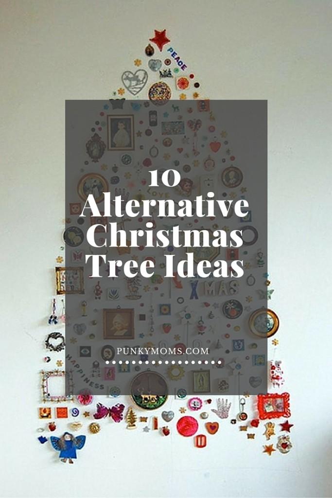 10 alternative christmas tree ideas holiday crafts - Christmas tree alternatives beautiful ideas ...