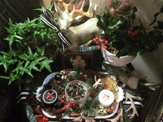 happy yule and blessed winter solstice