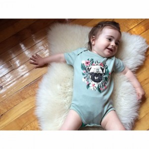Pug onesie - Punk Baby Clothes - Gift Ideas For Kids