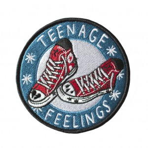 Gift ideas for tweens - Teenage Feelings patch from Stay Home Club