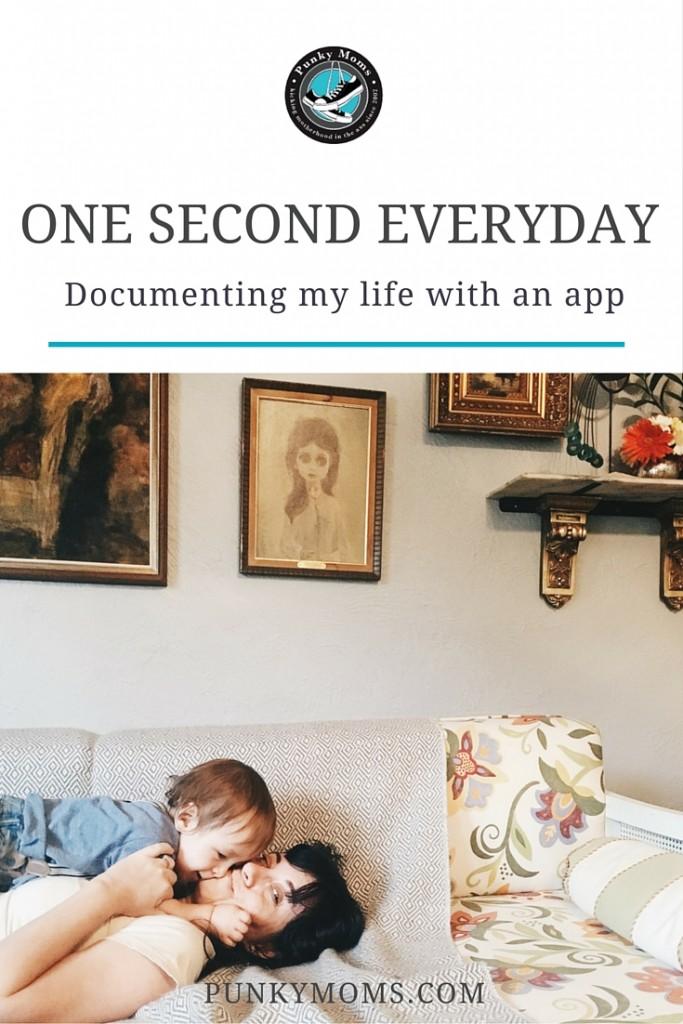 One second everyday photo video app