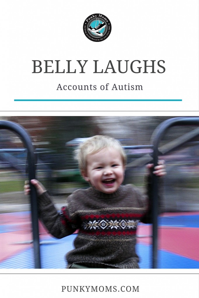 Autism Belly laughs