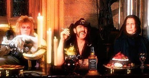 Bowie lemmy rickman - grieiving our idols