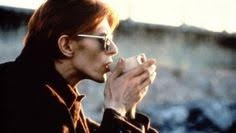 grieving our idols - bowie drinking tea