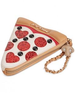 Betsey Johnson Pizza Purse - Pizza Gift