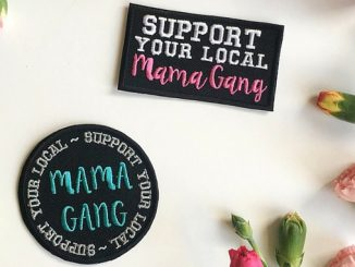 mama gang patches - support your mama gang patches