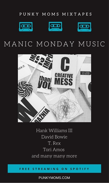 It doesn't have to be a depressing day. Take a listen to our Manic Monday playlist streaming free now on our Spotify station. We always play the best!