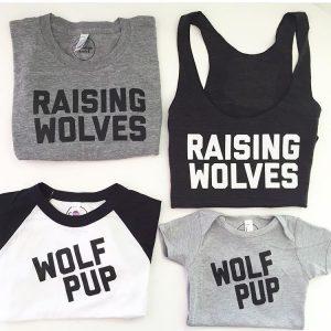 Savage Seeds - Raising Wolves Tshirt