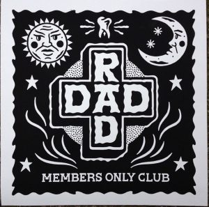 The Perfect Punk Gifts For the Punky Dads In Your Life - Rad Dad Art Print by Kev Grey
