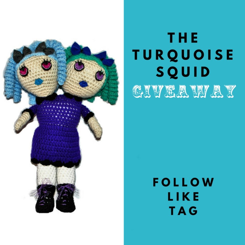 Audra aka The Turquoise Squid is putting out a collection of circus sideshow dolls and they are so damn good. She has been working so hard this past year.