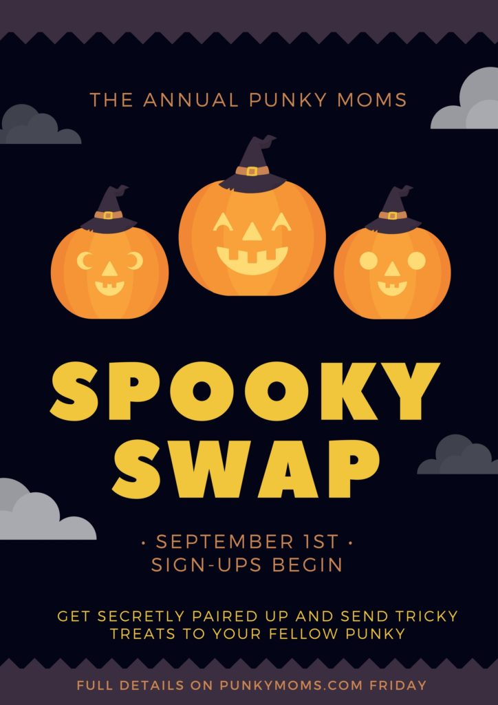 The Punky Moms Annual Spooky Halloween Swap Is On Right Now!