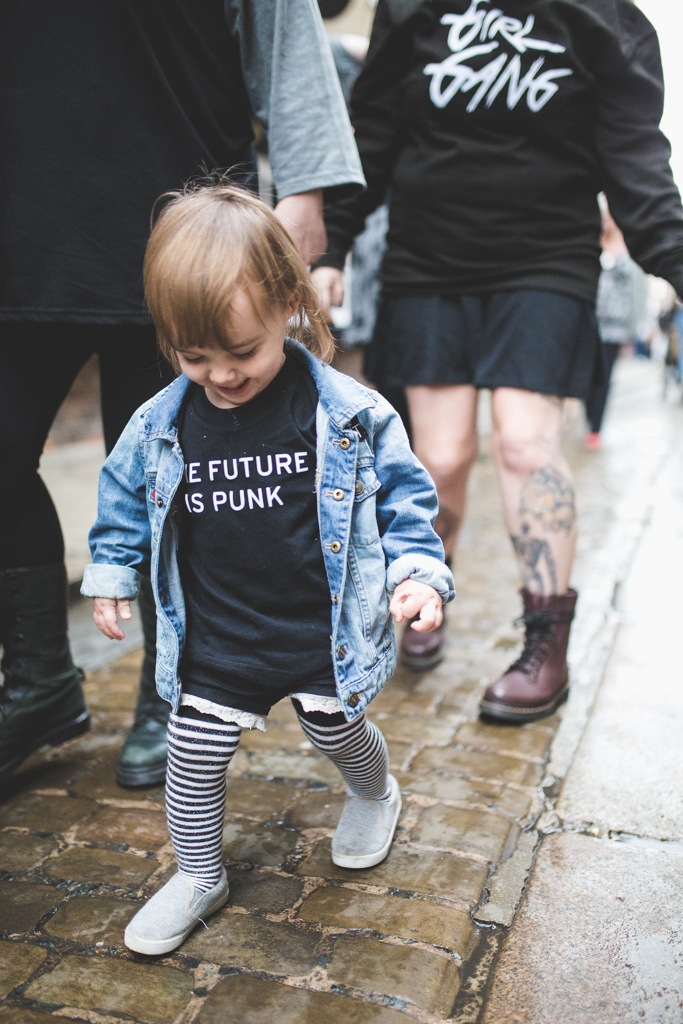 Punky Moms has revamped their online shop with a plethora of new designs that your alternative mom heart will love. New UK SHOP for our Punky Mums too! Girl Gang And The Future is Punk are pictured here.