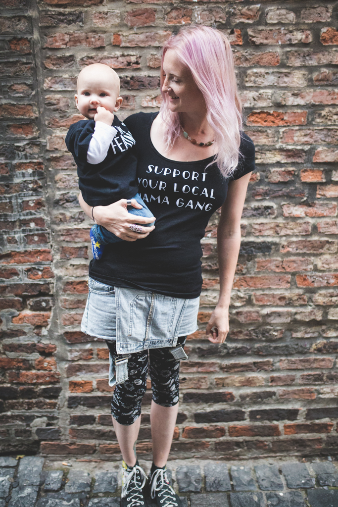 Punky Moms has revamped their online shop with a plethora of new designs that your alternative mom heart will love. New UK SHOP for our Punky Mums too! Support Your Local Mama Gang!