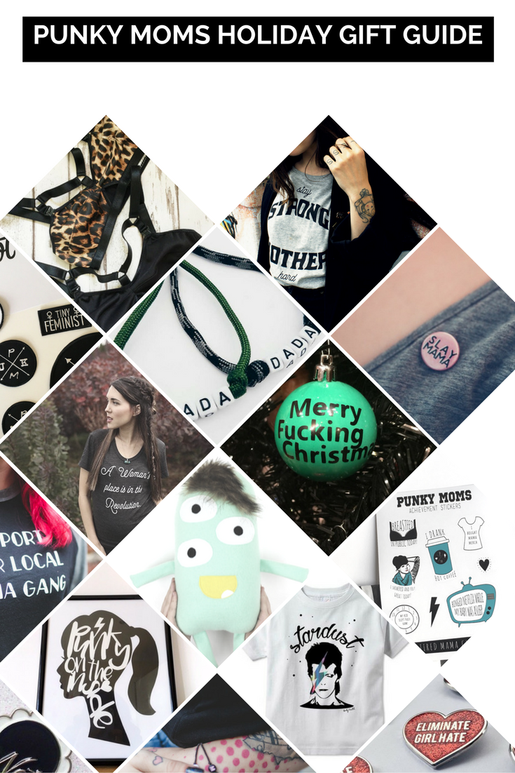 The Punky Moms 2016 Christmas Guide. Shop small and support your fellow mamas this year. Our gift guide is filled with amazing products.