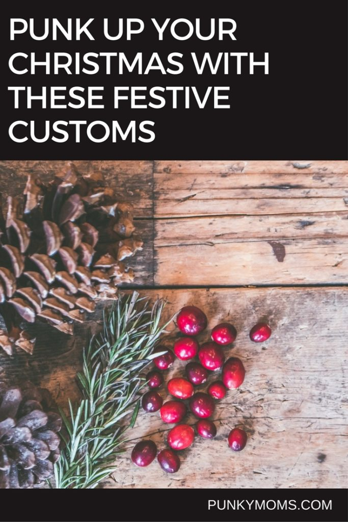 We always try to keep costs to a minimum around the holidays so here are a few affordable or free festive suggestions from the Punky family and beyond.