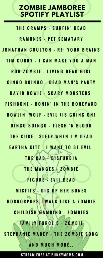 Grab a handful of candy and get ready to shake your bones with us living dead girl! It may not be Halloween but that doesn't mean we still can't listen to songs to raise the dead to. The Ramones to Childish Gambino to Oingo Boingo. This spotify playlist has it all. It's surprisingly bouncy!