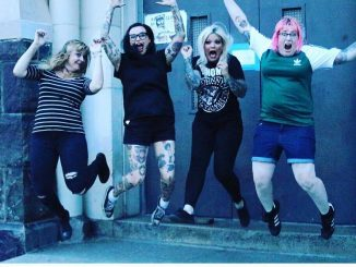 Our interview with Ramoms, the all girl, all mom Ramones cover band from Philly. mama is a punk rocker indeed.